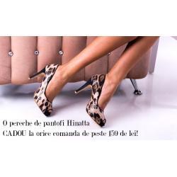 O pereche de pantofi Hinatta CADOU la orice comanda de peste 159 de lei