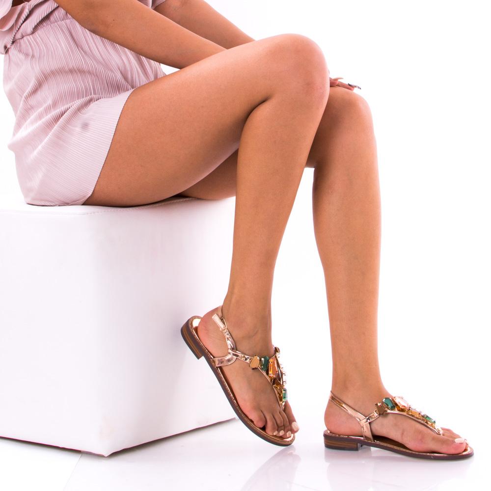 sandale dama vibeke 2 rose gold. Black Bedroom Furniture Sets. Home Design Ideas